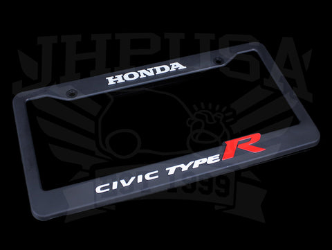 Honda Official Licensed Civic Type-R License Plate Frame