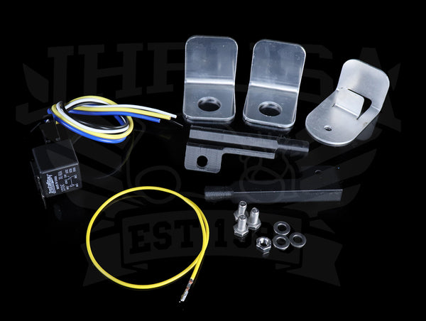 Hybrid Racing K-Swap A/C Line Kit - 92-95 Civic / 92-95 Delsol