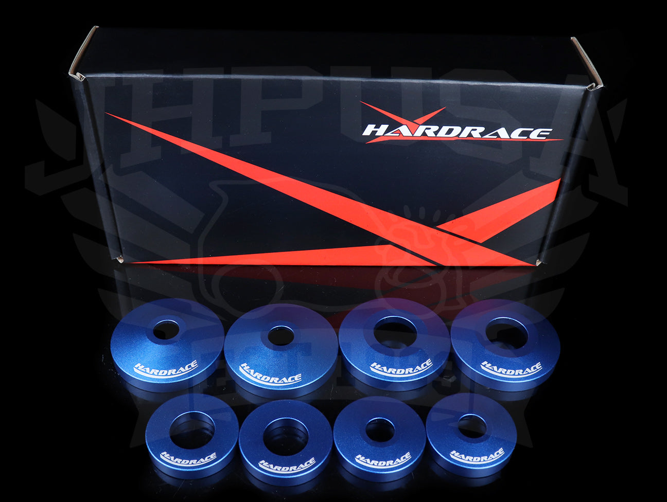 Hardrace Rear Differential Mount Rigid Collar Set - S2000