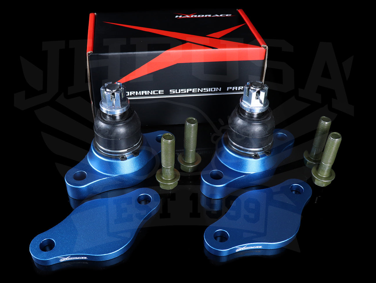 Hardrace Front Roll Center Adjusters w/ Offset Camber - Honda S2000