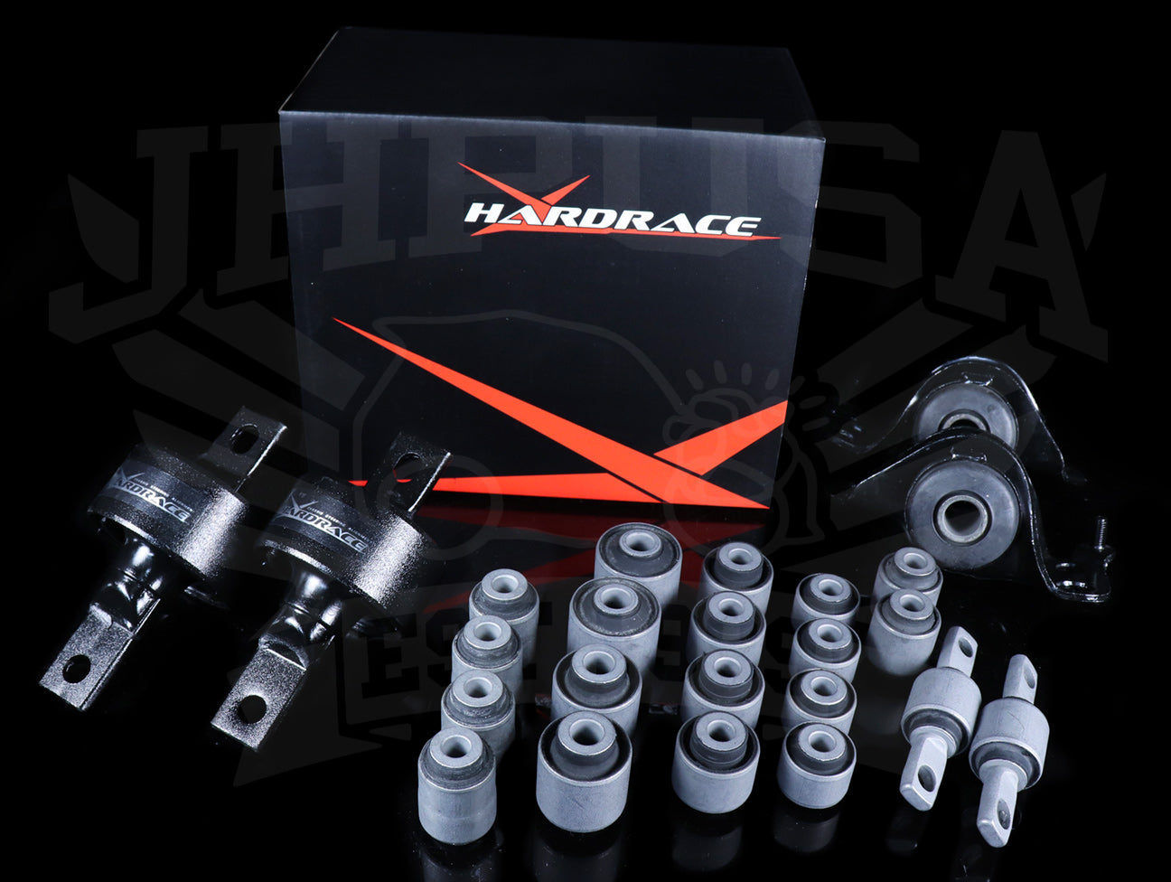 Hardrace Hard Rubber Bushing Set - 97-01 Integra Type-R