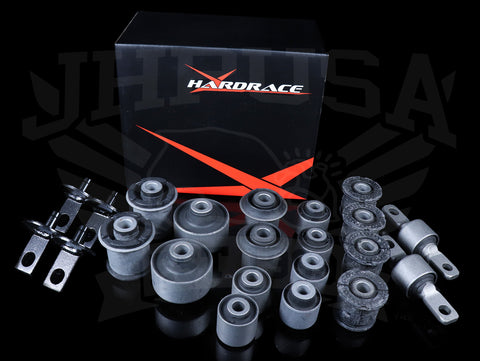 Hardrace Complete Bushing Set (Hard Rubber) - 02-06 RSX