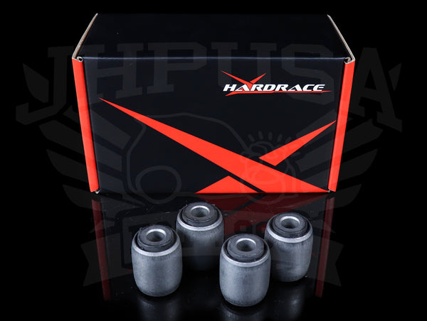 Hardrace Front Upper Control Arm Bushings (Hard Rubber) - 88-91 Civic/CRX / 90-93 Integra