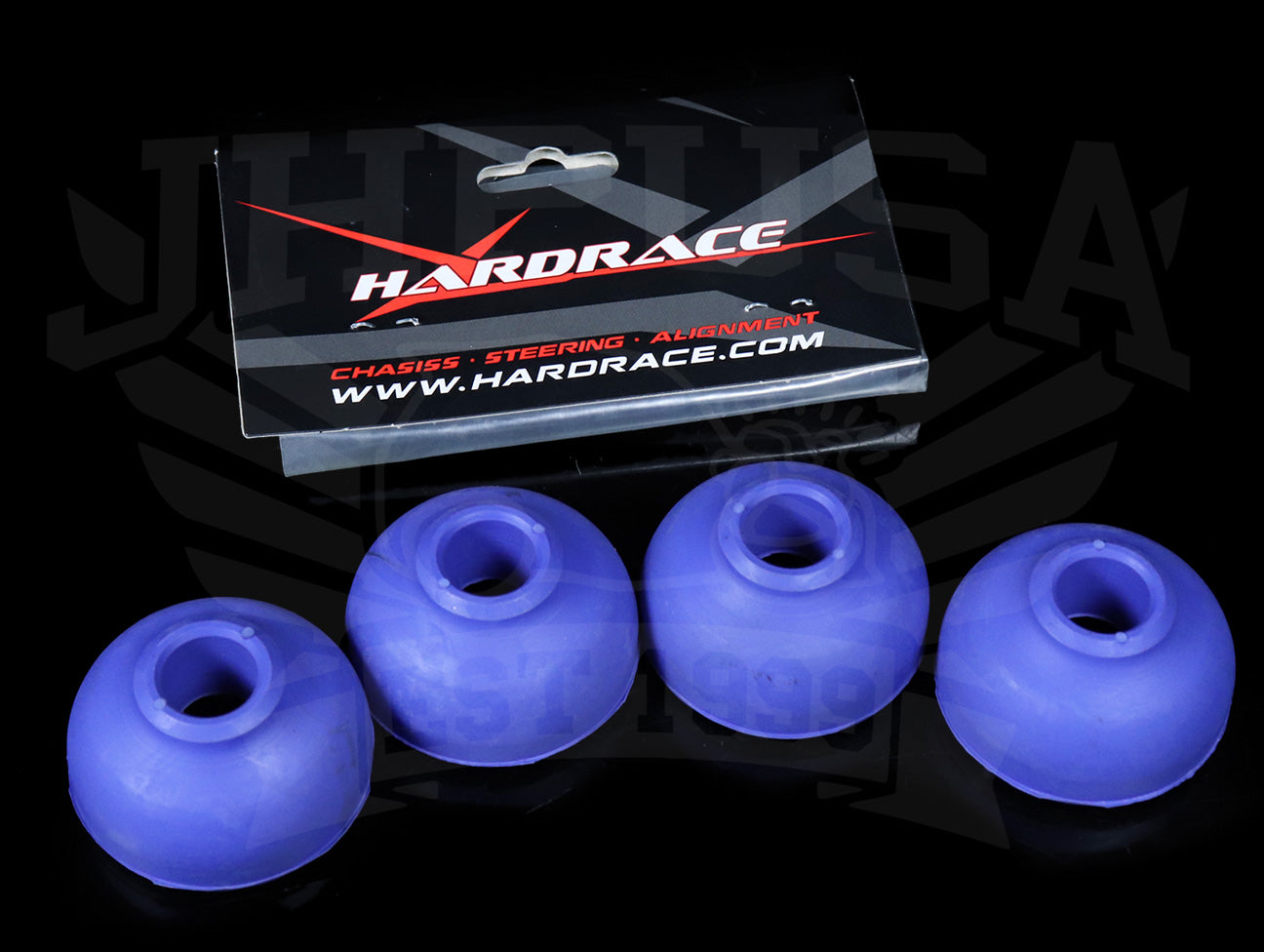 Hardrace Front Tension Rod Bushing Set - 88-91 Civic / CRX