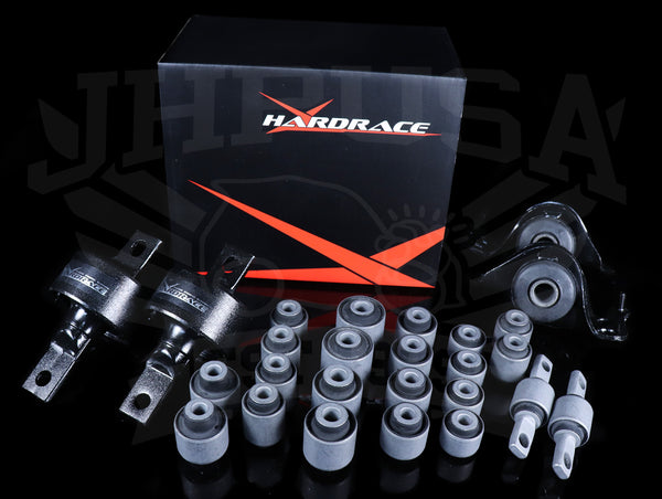 Hardrace Hard Rubber Bushing Set - 92-95 Civic / 94-01 Integra