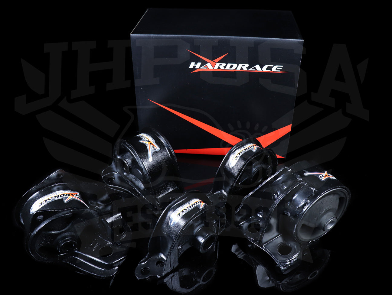 Hardrace Engine Mount Kit - 92-95 Civic