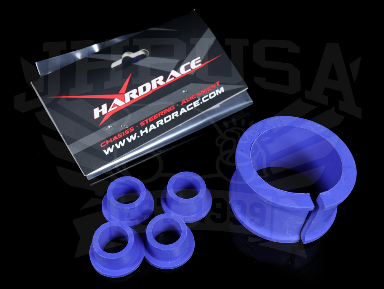 Hardrace TPV Power Steering Rack Bushings - 92-95 Civic / 94-01 Integra