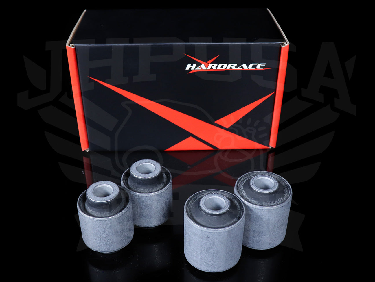 Hardrace Front Lower Control Arm Bushings (Hard Rubber) - 92-95 Civic / 94-01 Integra