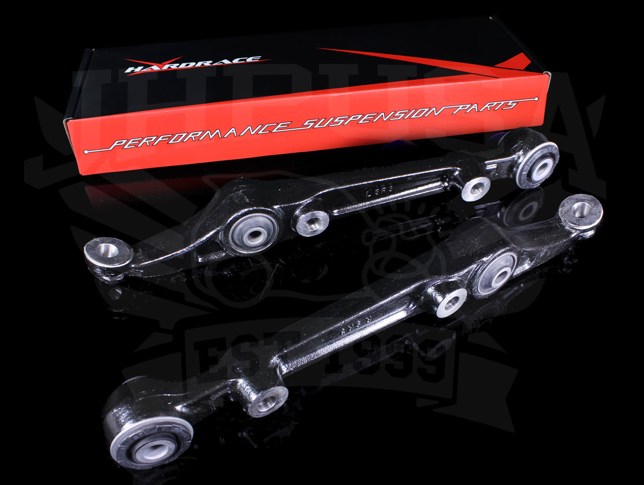 Hardrace Front Lower Control Arms (Hard Rubber) - 96-00 Civic (CX/DX/HX/EX)