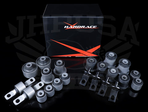 Hardrace Complete Bushing Set (Hard Rubber) - 01-05 Civic