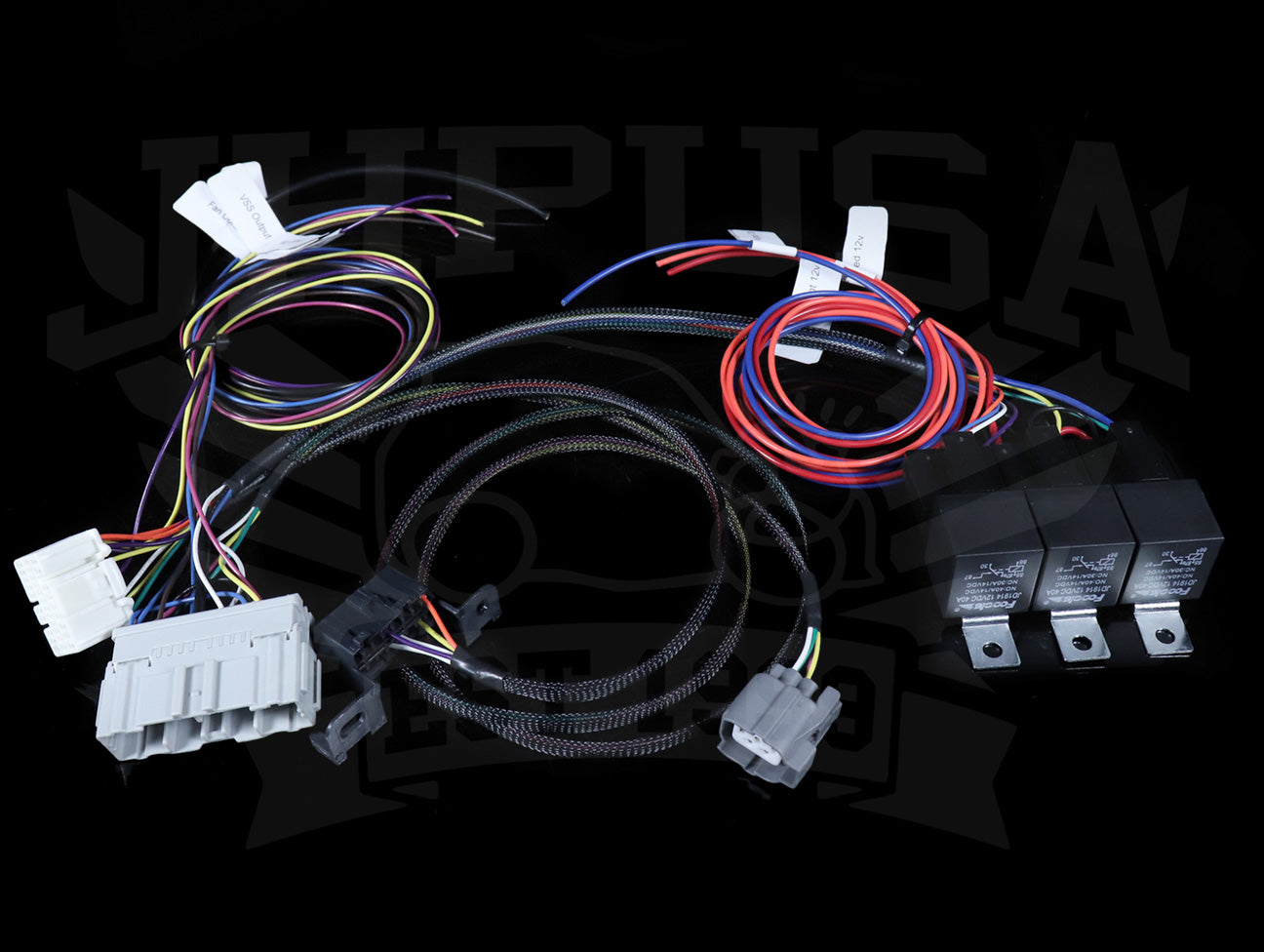 Hybrid Racing K-series Conversion Harness (02-04 Wiring) - Universal on