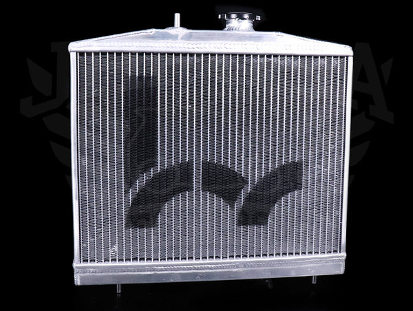 Hybrid Racing K-swap Half Size Radiator - 92-95 Civic / 92-97 Delsol