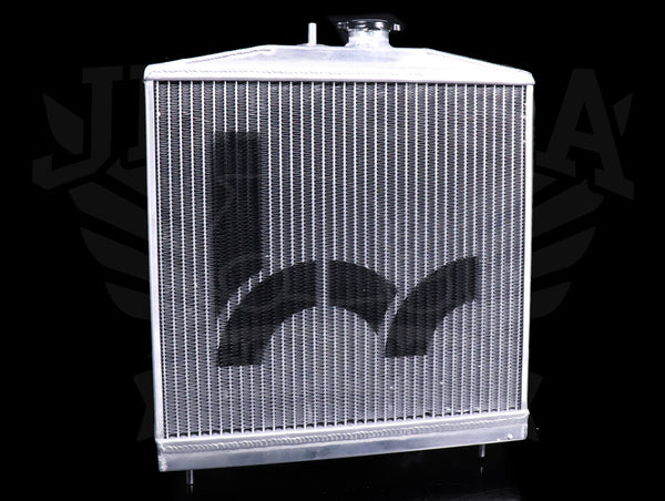 Hybrid Racing K-swap Half Size Radiator - 96-00 Civic