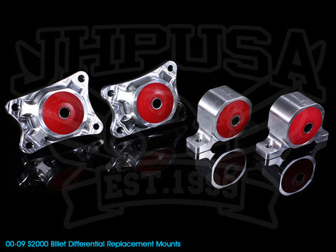 Innovative Billet Replacement Differential Mount Kit - 00-09 S2000