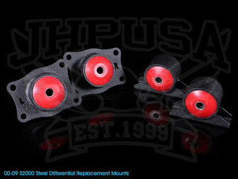 Innovative Steel Replacement Differential Mount Kit - 00-09 S2000