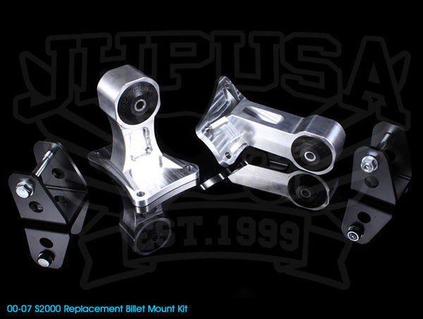 Innovative Billet Replacement Mount Kit - 00-07 S2000