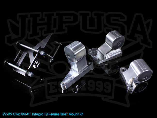 Innovative F/H-series Billet Mount Kit - 92-95 Civic / 94-01 Integra