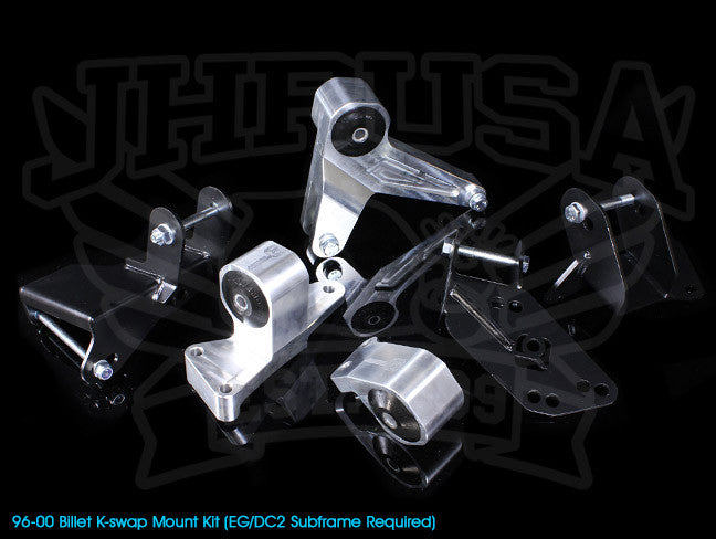 Innovative Billet K-series Engine Mount Kit - 96-00 Civic (EG/DC2 subframe)