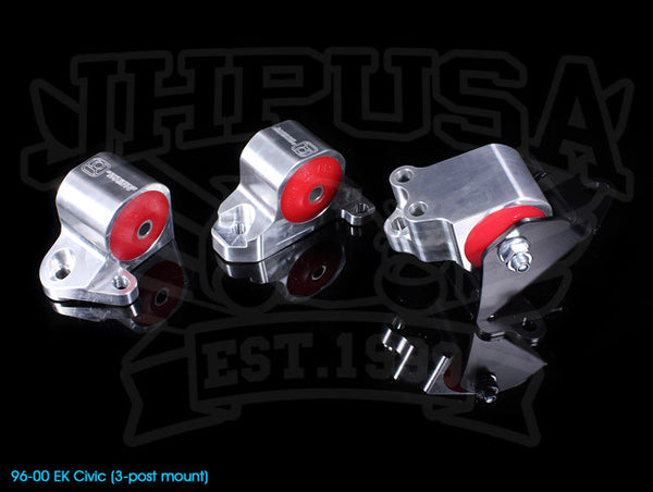 Innovative Billet Replacement Engine Mount Kit - 96-00 Civic