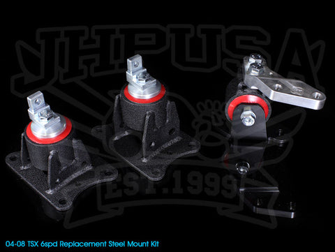 Innovative Steel Replacement Engine Mount Kit - 04-08 TSX