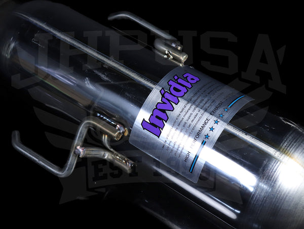 Invidia Cat-Back Racing Exhaust System - 02+ Subaru WRX/STi
