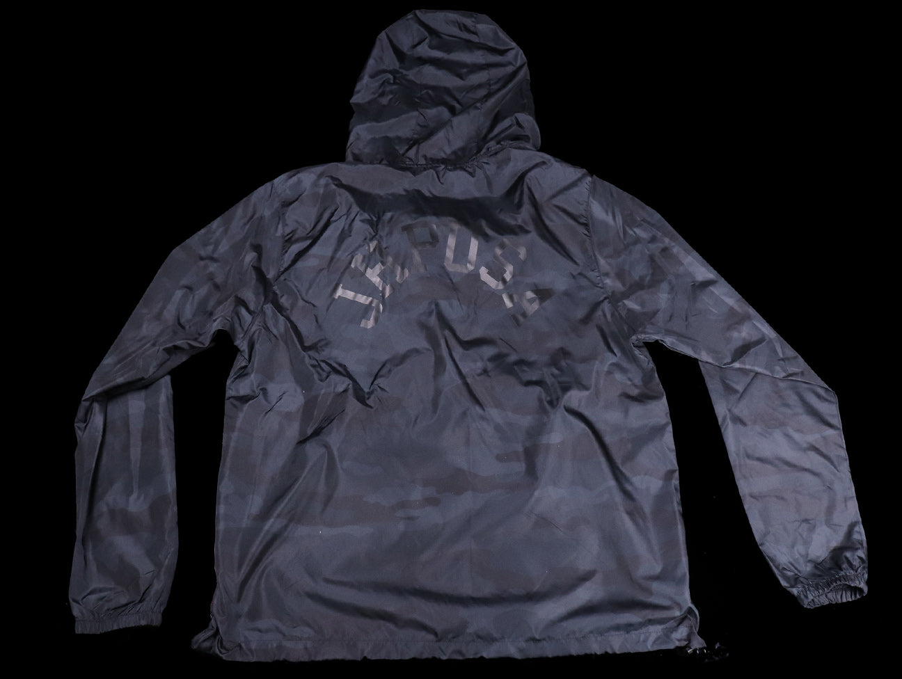 JHPUSA Windbreaker Anorak Jacket - Black Camo