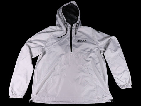 JHPUSA Windbreaker Anorak Jacket - Smoke White