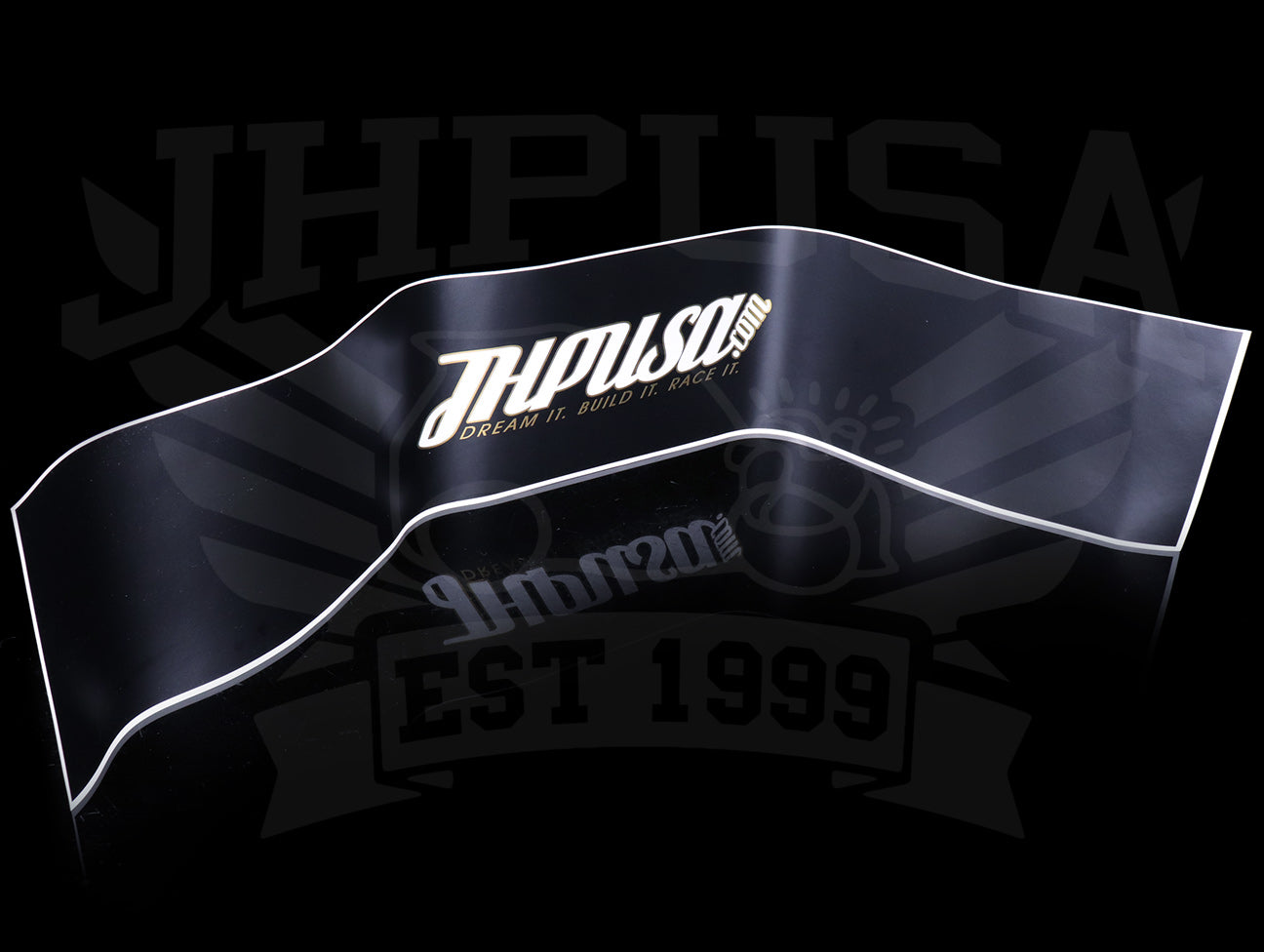JHPUSA D.B.R. 2-Piece Windshield Banner