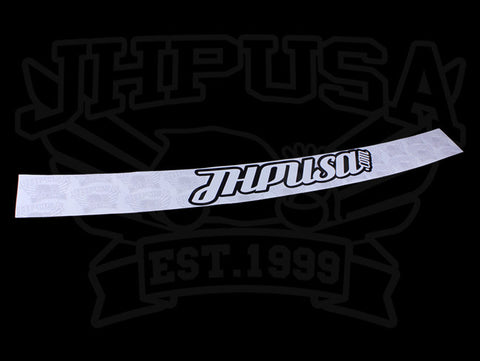 JHPUSA One Piece Windshield Banner - 92-00 Civic / 94-01 Integra