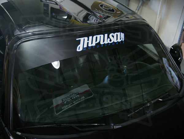 JHPUSA Two Piece Windshield Banner