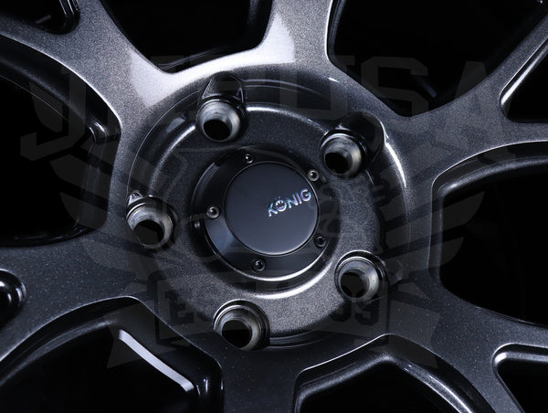 Konig Ampliform Wheels - Dark Metallic Graphite 18x9.5 / 5x120 / +35