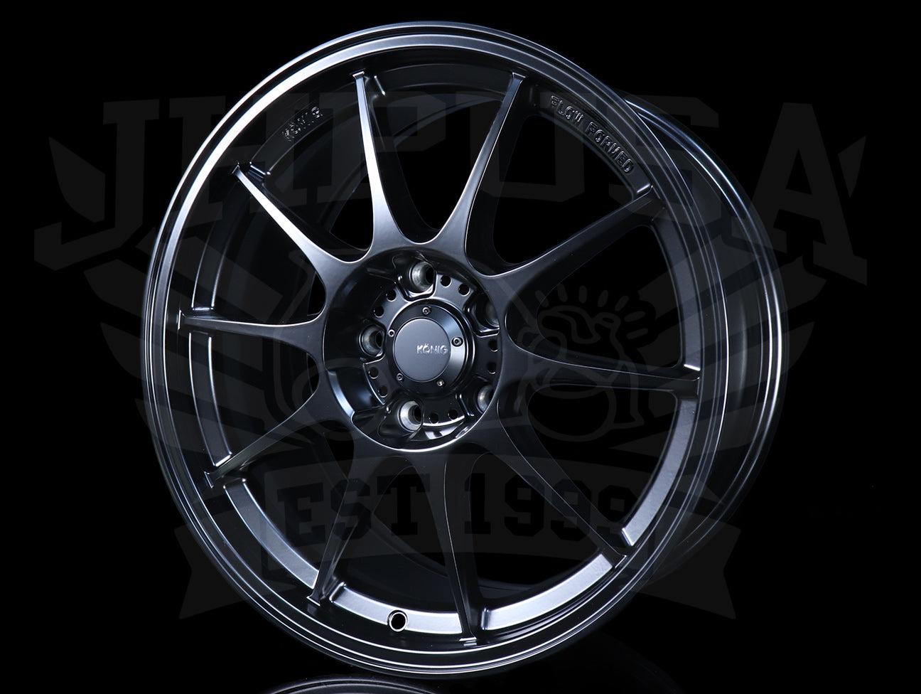 Konig Dekagram Wheels - Matte Black 18x8.5 / 5x120 / +32