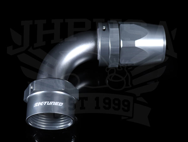 K-Tuned Standard Hose Ends - Titanium Finish