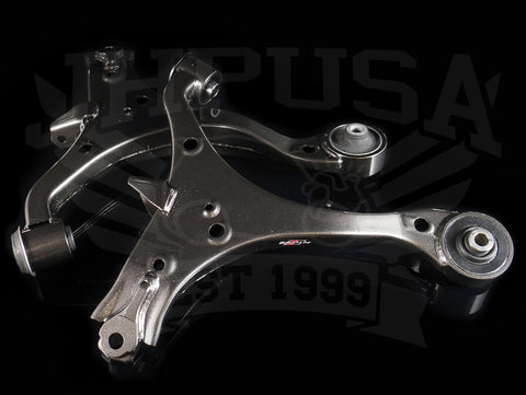 K-Tuned Front Lower Control Arms (Hard Rubber) - 02-06 RSX