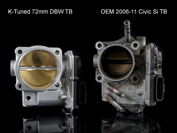 K-Tuned  72mm Drive By Wire Throttle Body - 06-15 Civic Si / S2000 / ILX / TSX