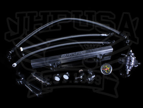 K-Tuned K-swap Center Feed (Tucked) Fuel Line Complete Kit