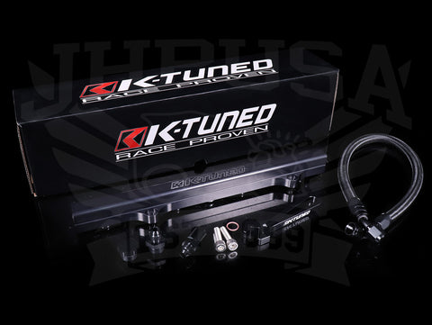 K-Tuned Side Feed Fuel Rail & Line Kit - RSX / 01-05 Civic