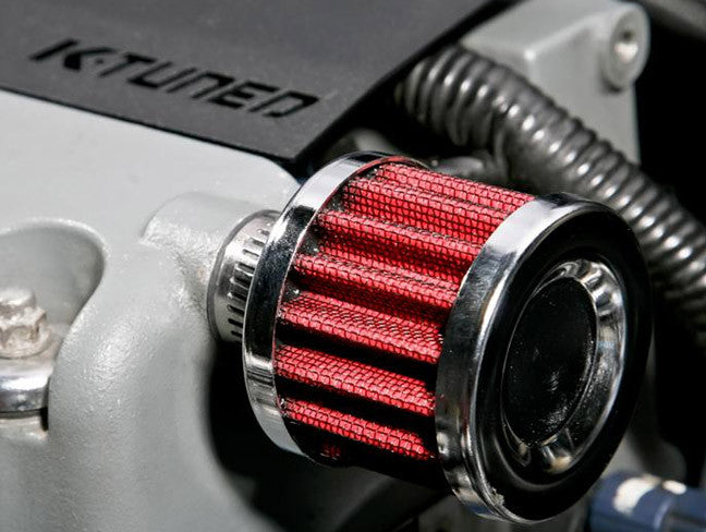 K-Tuned Valve Cover Breather Filter