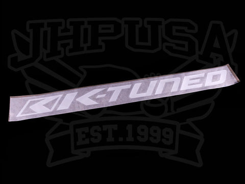 "K-Tuned 28"" Windshield Banner"