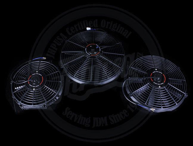 "Mishimoto Slim Radiator Fan - 12"", 14"",16"""