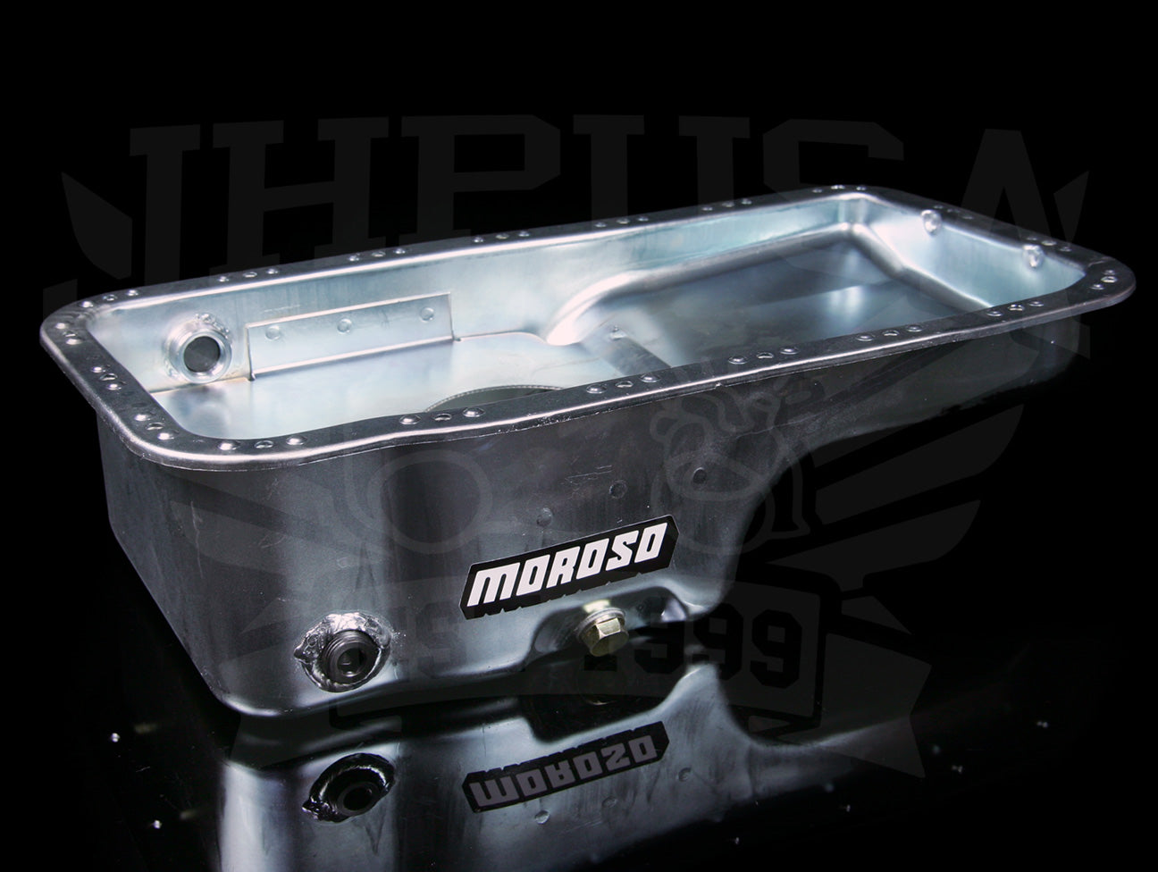 Moroso Street / Strip Baffled Oil Pan - B-series