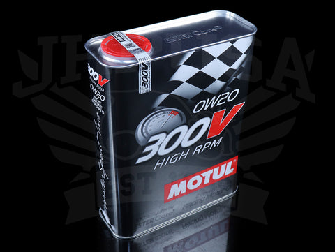 Motul 300V Synthetic Racing Motor Oil - 0W20 / 2 Liter