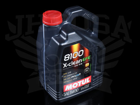 Motul 8100 X-Clean EFE Synthetic Motor Oil - 5W30 / 5 Liter