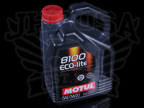 Motul 100% Synthetic Motor Oil - 5 Liter