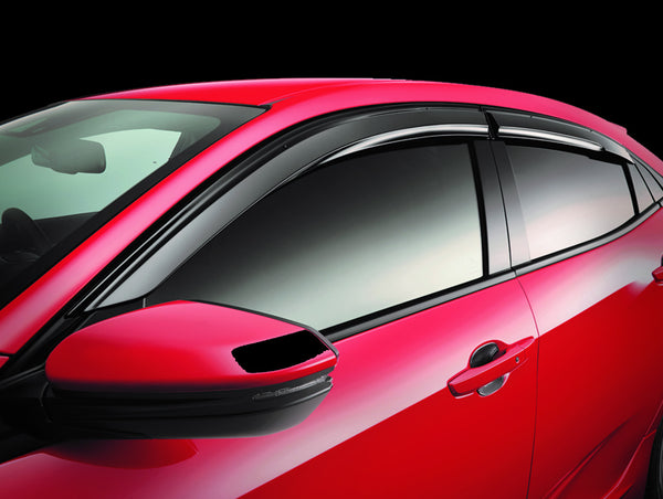 Mugen Ventilated Door Visors - 2016+ Civic / 2017+ Civic Type-R (FK8)