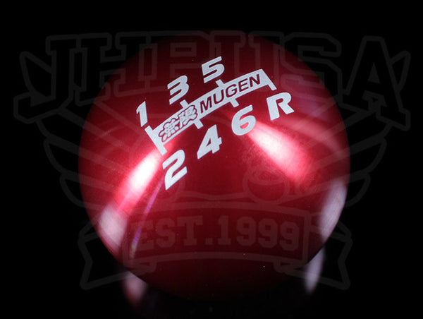 Mugen Shift Knob - 6-speed Spherical