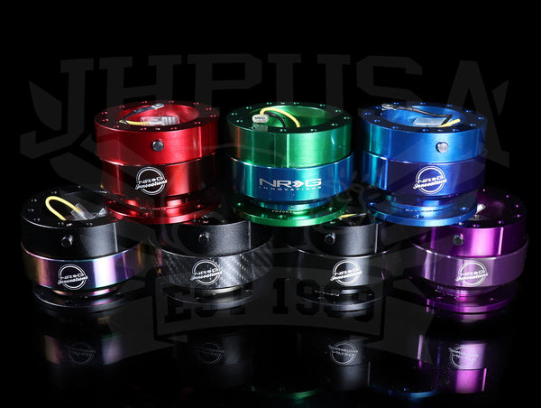 NRG Quick Release Kit Gen 2.0 - Colored Ring