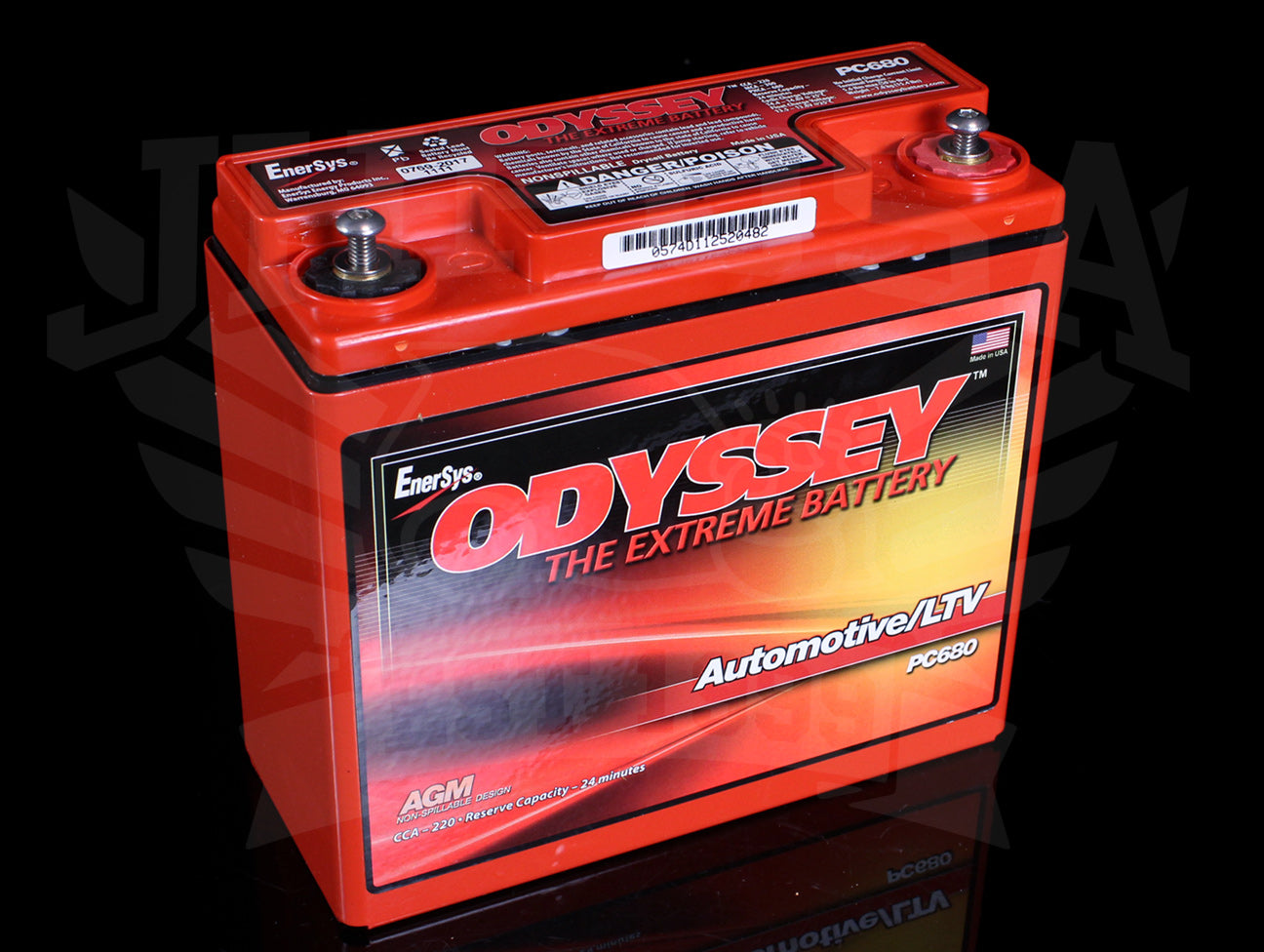 Odyssey Drycell Metal Jacket Battery PC680