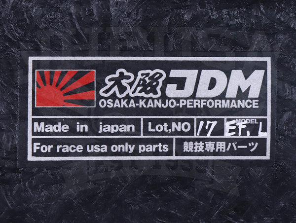 Osaka JDM Grand Civic Wide Fender Set V2 - 88-91 Civic