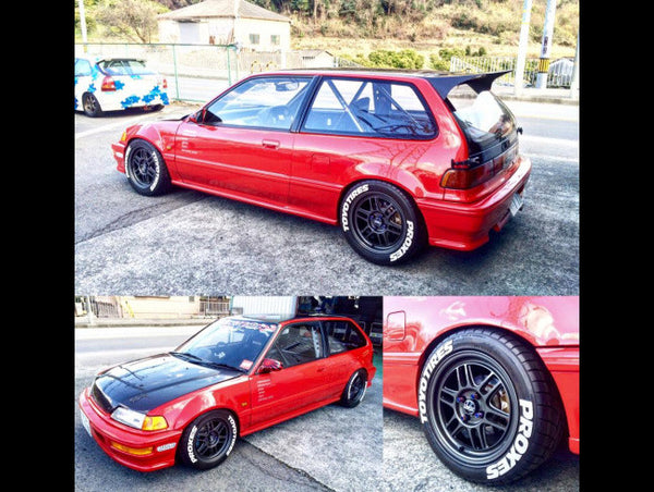 Osaka JDM Loop6 - 15 x 8.0 Wheels
